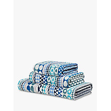 Buy Margo Selby Bilbao Towels, Blue Online at johnlewis.com