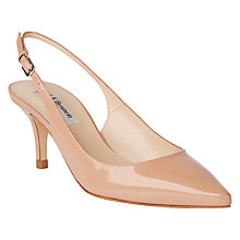 Buy L.K. Bennett Florita Slingback Court Shoes, Fawn Patent Online at johnlewis.com