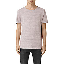 Buy AllSaints Warn Stripe Crew T-Shirt Online at johnlewis.com