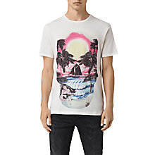Buy AllSaints Waikiki Graphic Print T-Shirt Online at johnlewis.com