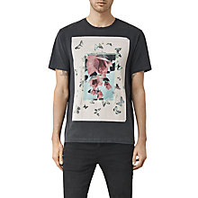 Buy AllSaints Taped Graphic Print T-Shirt Online at johnlewis.com