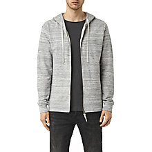 Buy AllSaints Trema Marl Hoody, Ecru Mouline/Vintage White Online at johnlewis.com