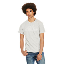 Buy Denim & Supply Ralph Lauren Crew Neck T-Shirt, Granite Heather Online at johnlewis.com