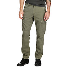 Buy Denim & Supply Ralph Lauren Slim Fit Cargo Chinos Online at johnlewis.com