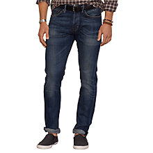 Buy Denim & Supply Ralph Lauren Low Skinny Jeans, Murphy Dark Wash Online at johnlewis.com