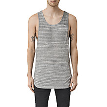 Buy AllSaints Tobiah Vest, Grey Mouline Online at johnlewis.com