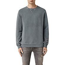 Buy AllSaints Wilde Crew Neck Sweatshirt Online at johnlewis.com