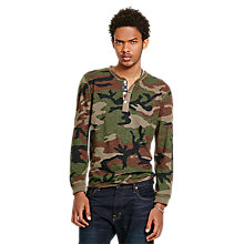 Buy Denim & Supply Ralph Lauren Henley Long Sleeve T-Shirt Online at johnlewis.com