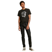 Buy Denim & Supply Ralph Lauren Crew Neck T-Shirt, Faded Black Canvas Online at johnlewis.com