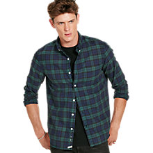 Buy Denim & Supply Ralph Lauren Plaid Cotton Oxford Shirt, Hatfield Online at johnlewis.com