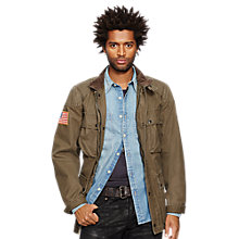 Buy Denim & Supply Ralph Lauren Motor Jacket Online at johnlewis.com
