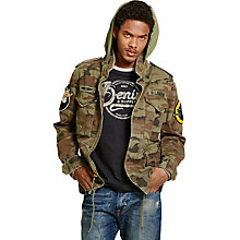 Buy Denim & Supply Ralph Lauren Field Jacket, Sumpter Multi Online at johnlewis.com