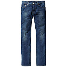 Buy Tommy Hilfiger Denton Jeans, Middle Blue Online at johnlewis.com