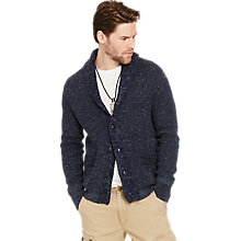 Buy Denim & Supply Ralph Lauren Boyfriend Cardigan, Blue Online at johnlewis.com