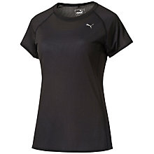 Buy Puma Running T-Shirt, Black Online at johnlewis.com