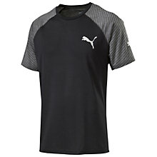 Buy Puma Dri-Release Running Top, Black Online at johnlewis.com