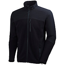 Buy Helly Hansen Crew Men's Fleece Jacket, Black Online at johnlewis.com