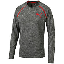 Buy Puma Active Training Bonded Tech Long Sleeve Running Top, Grey Online at johnlewis.com