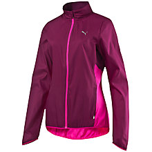 Buy Puma Speed Windcell Women's Running Jacket, Pink Online at johnlewis.com