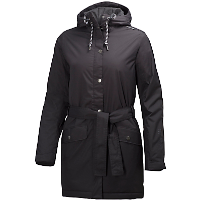 Helly Hansen Lyness Waterproof Insulated Women's Raincoat, Black