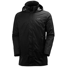 Buy Helly Hansen Mercer CIS Coat, Black Online at johnlewis.com