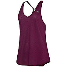 Buy Puma Active Training Mesh It Up Tank Top, Pink Online at johnlewis.com
