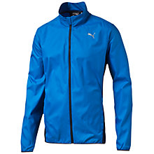 Buy Puma Windbreaker Men's Running Jacket, Blue Online at johnlewis.com