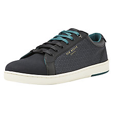 Buy Ted Baker Keeran Trainers, Black Online at johnlewis.com