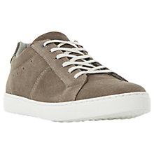 Buy Dune Twister Sleek Suede Cupsole Trainers Online at johnlewis.com