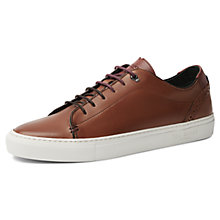 Buy Ted Baker Kiing Tan Trainers, Tan Online at johnlewis.com