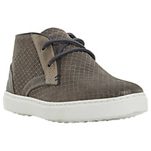 Buy Dune Sultan Embossed Canvas Chukka Boots Online at johnlewis.com