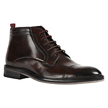 Buy Ted Baker Baise Chukka Boots, Brown Online at johnlewis.com