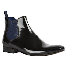 Buy Ted Baker Hourb 2 Classic Chelsea Boots, Black Online at johnlewis.com