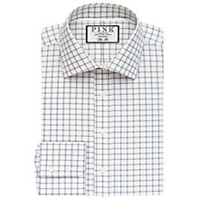 Buy Thomas Pink Goodall Check XL Sleeve Slim Fit Shirt, White/Navy Online at johnlewis.com
