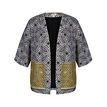 Buy Celuu Marylou Printed Kimono, Multi Online at johnlewis.com