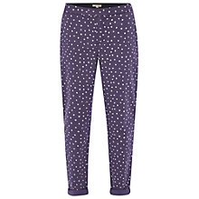 Buy White Stuff Spotty Dot Trousers, Navy Online at johnlewis.com