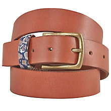 Buy White Stuff Floral Taped Keeper Belt, Tan Online at johnlewis.com