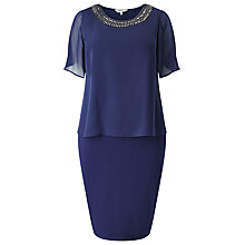 Buy Studio 8 Harley Dress, Navy Online at johnlewis.com