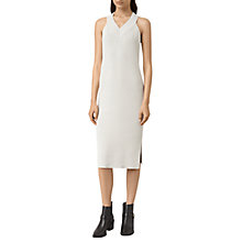 Buy AllSaints Orro Dress, Porcelain White Online at johnlewis.com