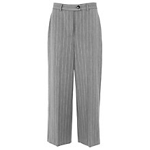 Buy Whistles Cropped Trousers, Grey Online at johnlewis.com