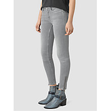 Buy AllSaints Mast Ankle Zip Jeans Online at johnlewis.com