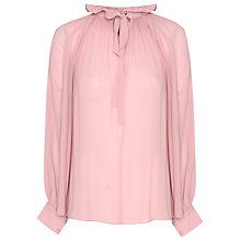 Buy True Decadence Victorian Blouse, Light Dusty Pink Online at johnlewis.com