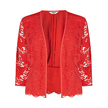Buy Studio 8 Montana Lace Jacket, Red Online at johnlewis.com
