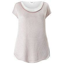 Buy Studio 8 Rhian Knitted Top, Pink Online at johnlewis.com