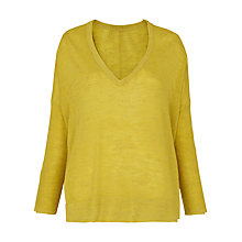 Buy Whistles V-Neck Marl Jumper Online at johnlewis.com