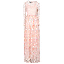 Buy True Decadence Floral Lace Maxi Dress, Light Pink Online at johnlewis.com