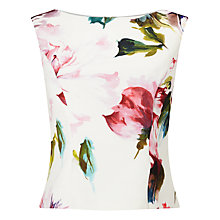 Buy Phase Eight Botanical Scuba Top, Multicoloured Online at johnlewis.com
