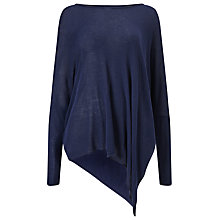 Buy Phase Eight Melinda Lightweight Jumper, Navy Online at johnlewis.com