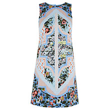 Buy Oasis Patchwork Chintz Shift Dress, Multi Online at johnlewis.com