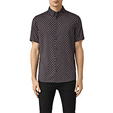 Buy AllSaints Kapow Mini Print Short Sleeve Shirt Online at johnlewis.com